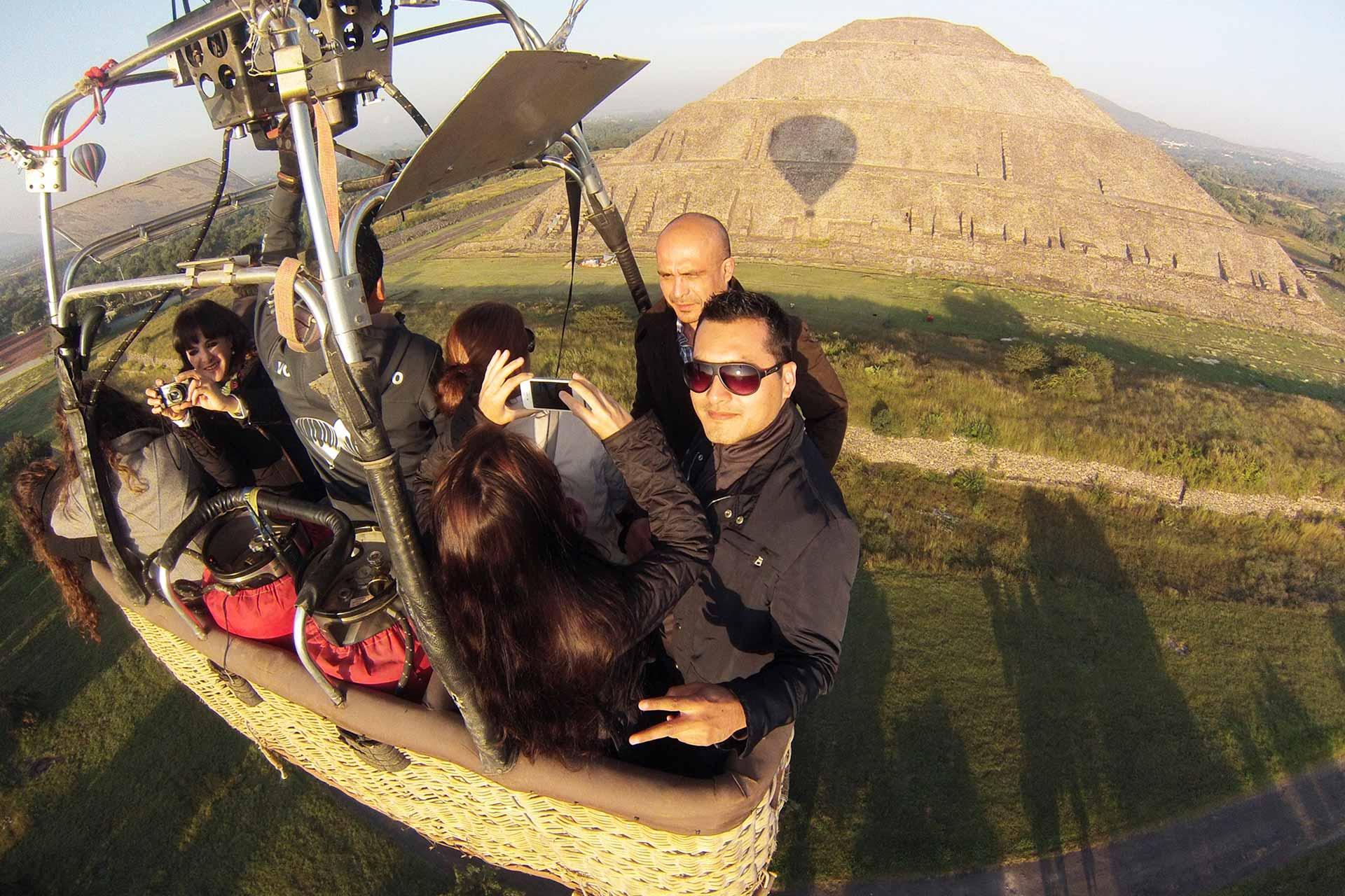 Viaje en Globo Teotihuacan | globosaerostaticos